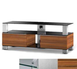 Sonorous MD9120CINXAPL - Meuble pour ecran Plasma/LCD en verre et bois