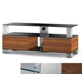 Sonorous MD9120CINXWNT - Meuble pour ecran Plasma/LCD en verre et bois