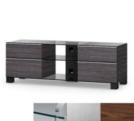 Sonorous MD9240CINXWNT - Meuble pour ecran Plasma/LCD en verre et bois
