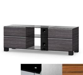 Sonorous MD9240BINXAPL - Meuble pour ecran Plasma/LCD en verre et bois
