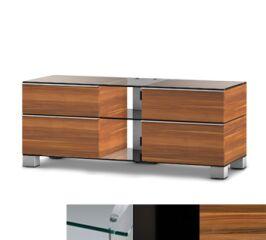 Sonorous MD9220CHBLKAPL - Meuble pour ecran Plasma/LCD en verre et bois