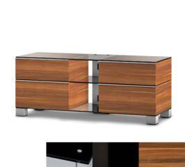 Sonorous MD9220BHBLKAPL - Meuble pour ecran Plasma/LCD en verre et bois